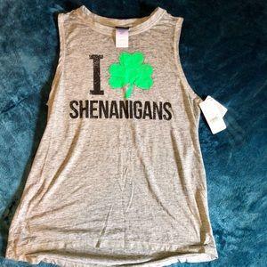 Tops - I 🍀 shenanigans sleeveless top